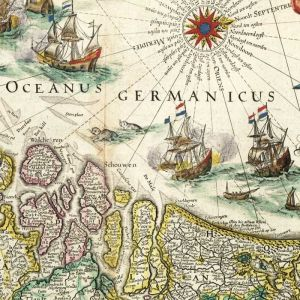 Nederland - Inferioris Germaniae - Oude kaart van Blaeu