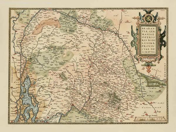 De oude kaarten van Jacob van Deventer