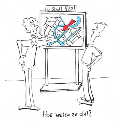 U staar hier cartoon